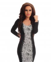 StarShinerS Glamour Black Dress