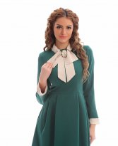 Haine. Rochie LaDonna Utterly Famous Green