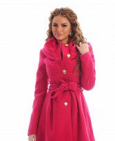 LaDonna Warm Time Pink Coat