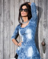 Haine. Rochie Mexton Never Old Blue