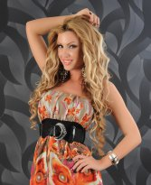 Rochie Fascinating Print Brown