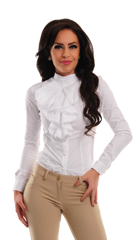 PrettyGirl Enchanted White Shirt