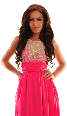 Royal Crossing Pink Dress
