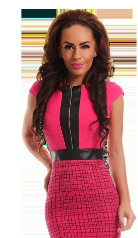 LaDonna Totally Divine Pink Dress