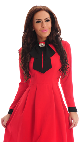 Rochie LaDonna Utterly Famous Red
