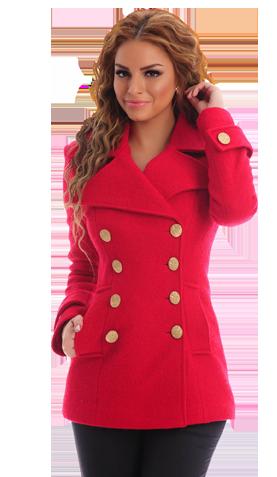 LaDonna Natural Concept Red Coat