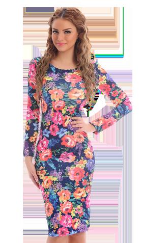 StarShinerS Fragrance DarkBlue Dress