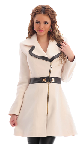 LaDonna True Delight Nude Coat