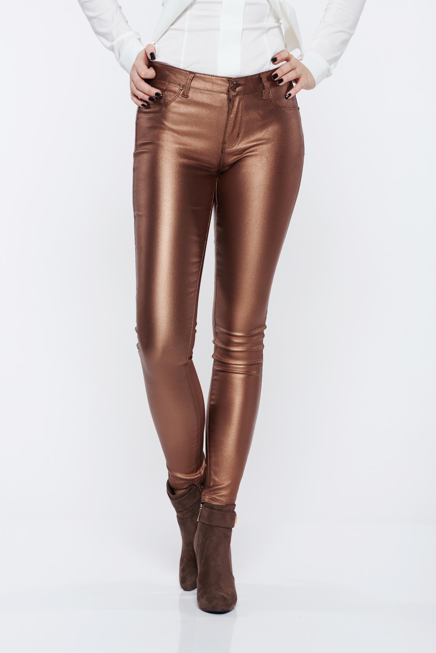 Pantaloni Top Secret S020015 Brown