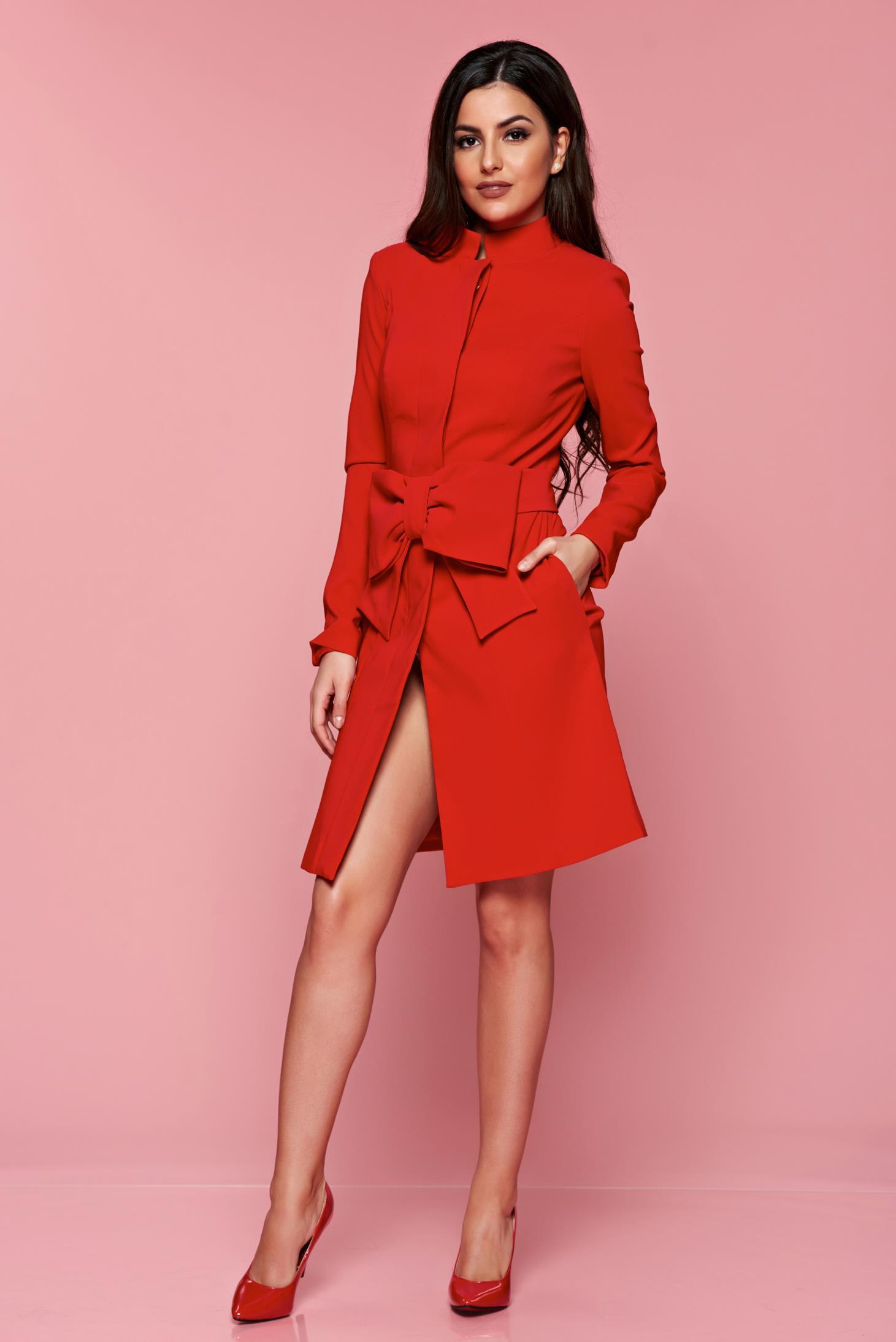 Palton Artista Flame Desire Red
