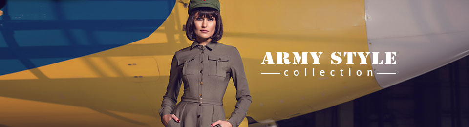 Army style collection
