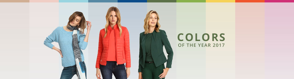 Colour of the year for clothing