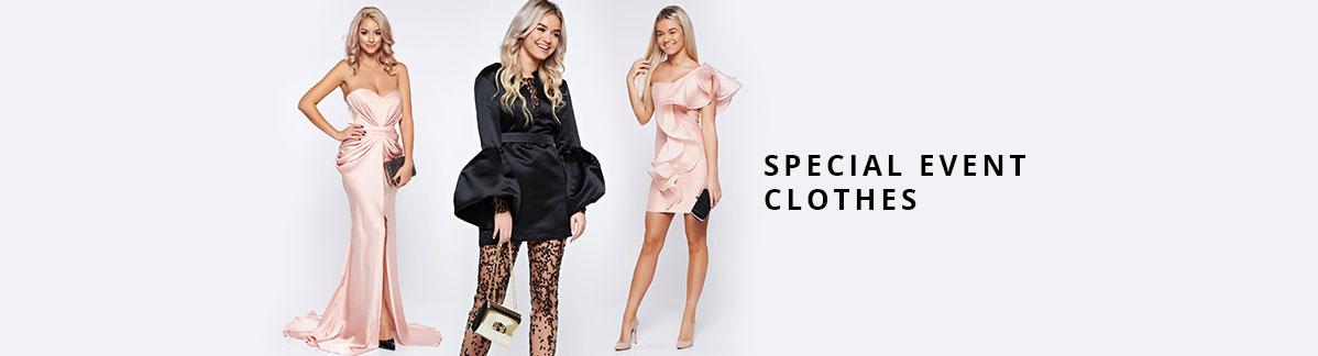 Special Events clothes