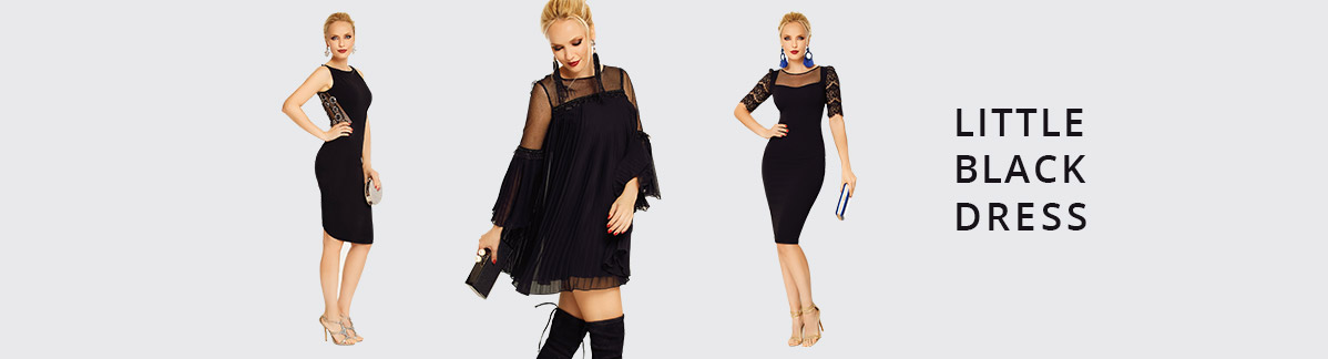 Little Black Dress - Articole Barocca, marimea L