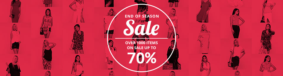 Sales and offers for online clothes